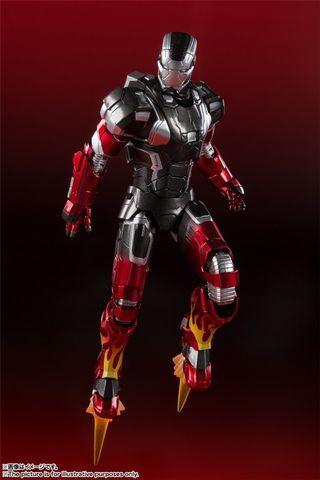 全新 BANDAI 日魂限 有啡箱 SHF Iron Man Mark XXII 22 Hot Rod Hotrod Mk Ironman