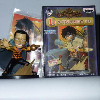 One Piece Sir Crocodile Card Stand Figure Ichiban #CarouRaya