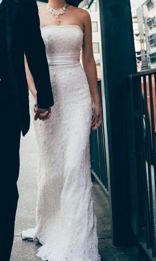 Pre wedding 魚尾白紗(需自行更改呎寸)