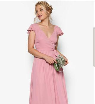 🚚 Bridesmaid dress blush pink