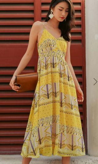 🚚 Fashmob Weki Maxi Yellow