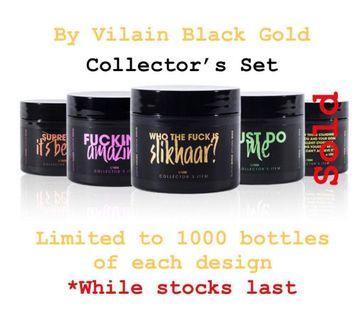By Vilain Black Gold Charcoal Wax Collector's Edition (Limited)