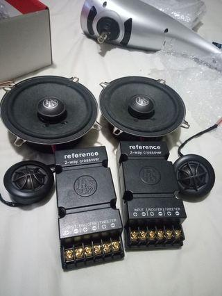 Dls rs 5 component speaker 2 way.