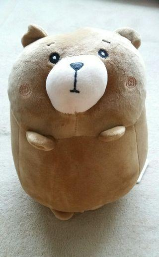 Miniso bear plush toy (with tag)