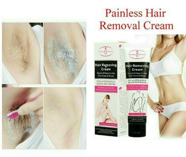 🚚 Fast Painless Body Leg Hand Armpit Hair Removal Cream (100ML)