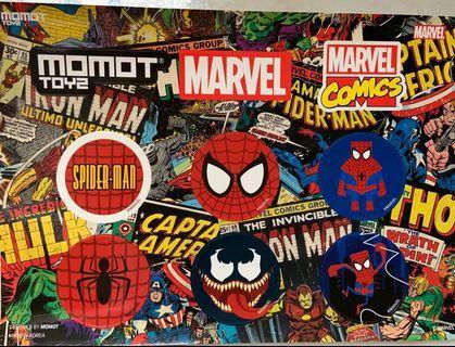 🚚 Spider-man stickers