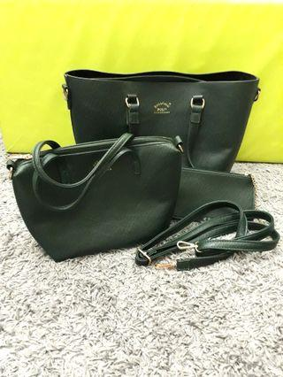 NEW Polo 3 in 1 Bag with Strap