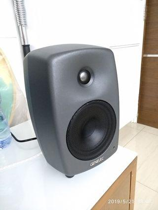 GENELEC 8030C one pair 喇叭speaker