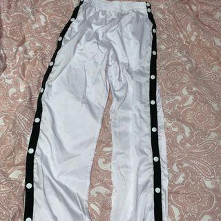 button up joggers