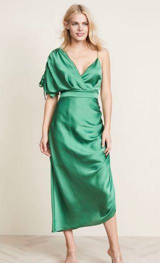 Keepsake Got You Dress Emerald Green