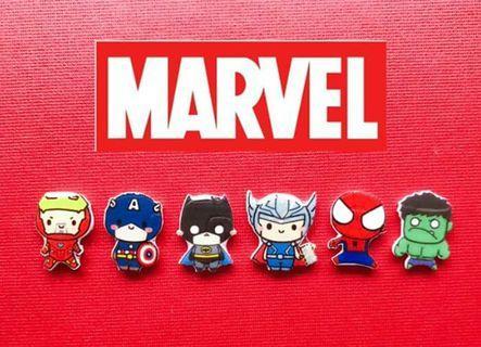 Marvel earrings 漫威耳环