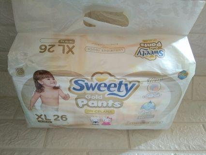Pampers sweety gold pants