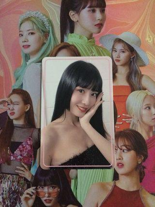 Twice fancy momo photocard