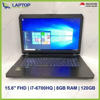 AFTERSHOCK P670RP (i7-6/8GB/120GB) [Premium Preowned]