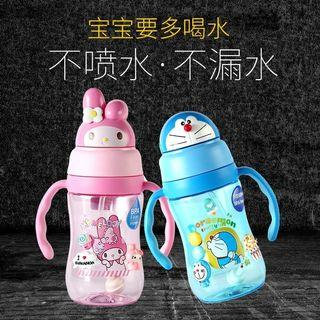 PO LLM190977 Toddler Melody/Doraemon Anti Spill Water Bottle w Handle