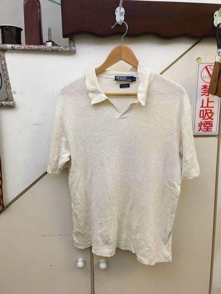 白POLO衫