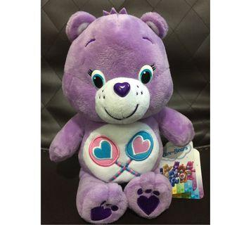 Care bear with tag