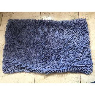 Karpet Bulu Biru