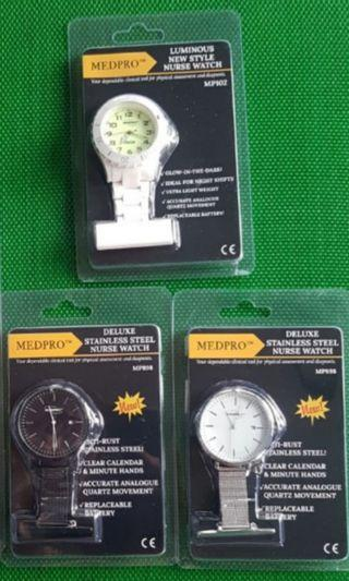 Nurses Brooch Watches in Various Designs 20% cheaper than retail price