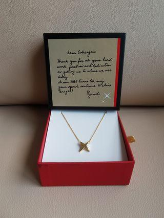 DBS Limited Edition- 18K Gold Plated Pendant Necklace