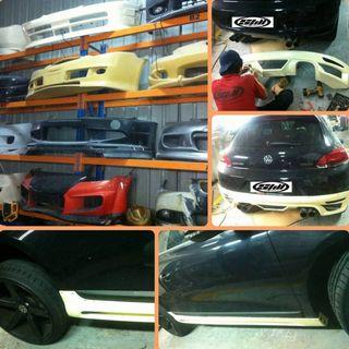 CUSTOMIZED BODY KIT FOR ALL CARS