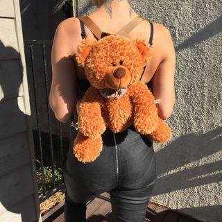 Mr teddy bear backpack🐻