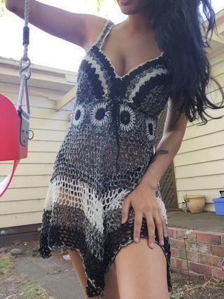 🖤 crochet dress🖤