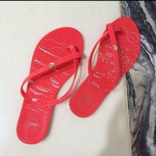 BN melissa slippers size 37
