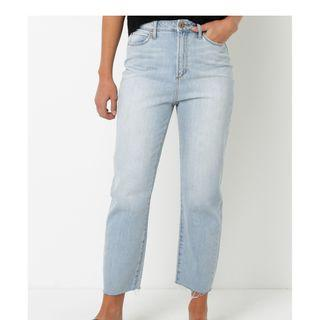articles of society mom jeans size 7