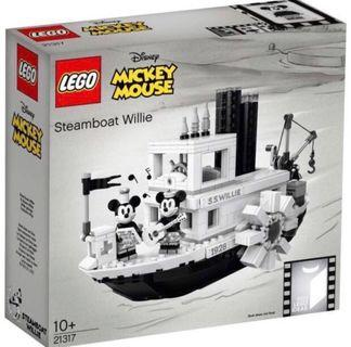 Lego 21317 steamboat willie ( Mickey Mouse limited edition)
