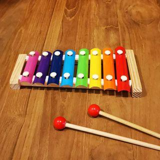 Kid Wooden Toy Xylophone