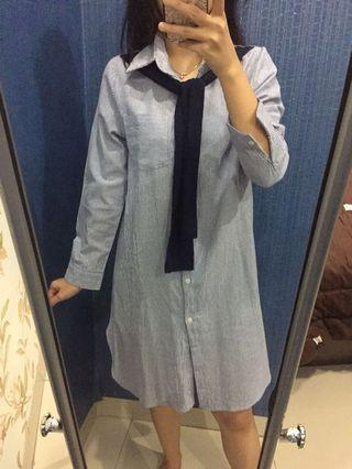 Dress kemeja