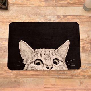 Cat Large Bathroom Mat