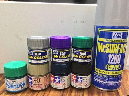 雙星/Mr. Hobby/Mr. Color 模型油/Mr. Surfacer