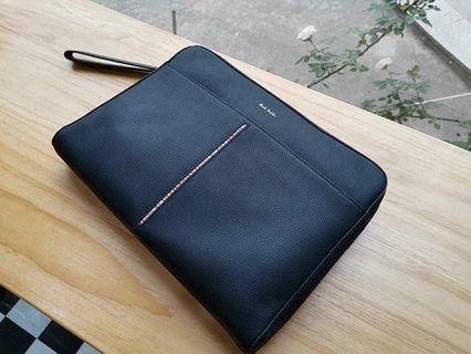 全新日本Paul Smith真皮手包電腦包