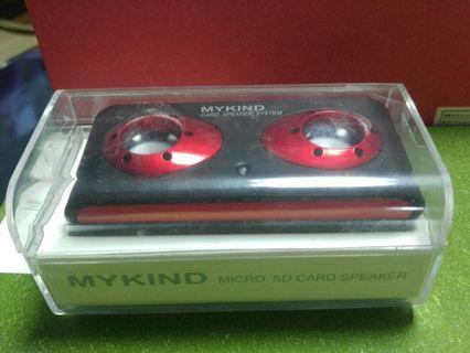 MYKIND MICRO SD CARD SPEAKER