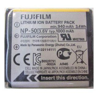 original Fujifilm Finepix NP50 NP-50 NP-50A camera Li-ion Battery pentax Kodak