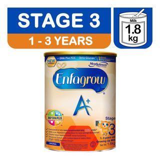 🚚 Enfagrow A+ Growing Up Milk Formula - Stage 3