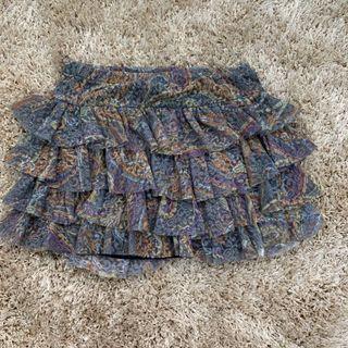 Bershka Ruffled Skirt