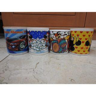 Disney Glass Cups
