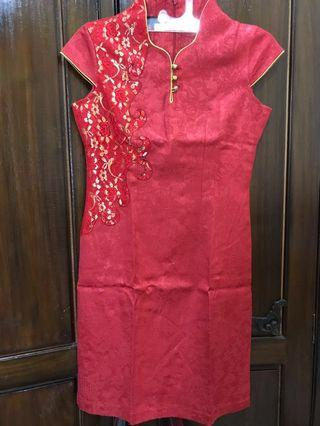 Shanghai Red Dress 💃 #ramadansale