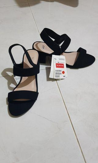 HnM H&M block ankle heels