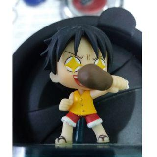One Piece Cute Luffy Shining Eyes with Meat #CarouRaya