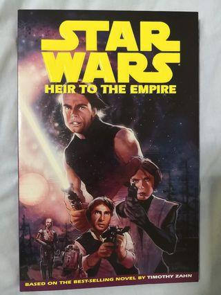 🚚 Star Wars- Heir to the Empire trade paperback