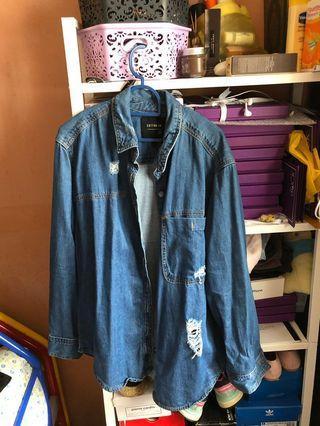 #GayaRaya Denim Jacket