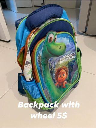 🚚 Kids Backpack