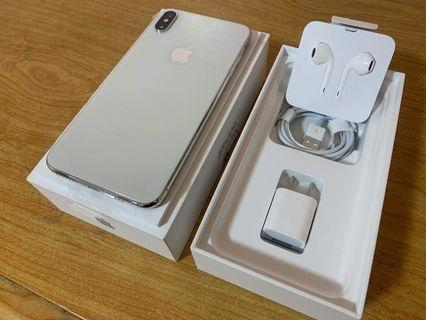 iPhone XS Max 64gb silver globelock complete RUSH