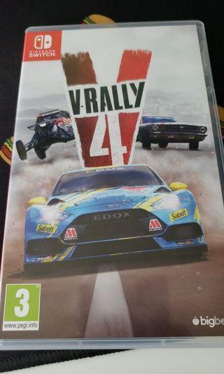 V rally 4 for nintendo switch