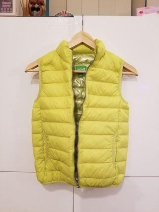 Colorful warm vest