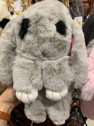 Bunny Furry Sling Bag